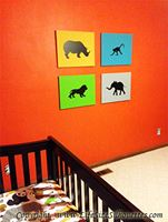 Picture of Rhinoceros 22 (Animal Silhouette Decals)