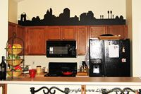 Picture of Edmonton, Canada City Skyline (Cityscape Decal)