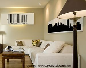 Picture of Leicester, England City Skyline (Cityscape Decal)