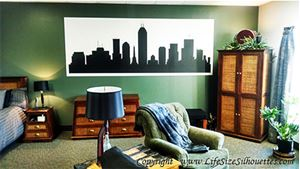 Picture of z Custom City Skyline Decal