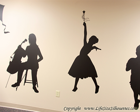 Picture of Dancing Princess 1 (Children Silhouette Decals)