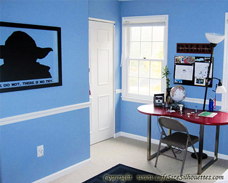 Picture of Custom  Silhouette Decal (Custom Wall Silhouettes)